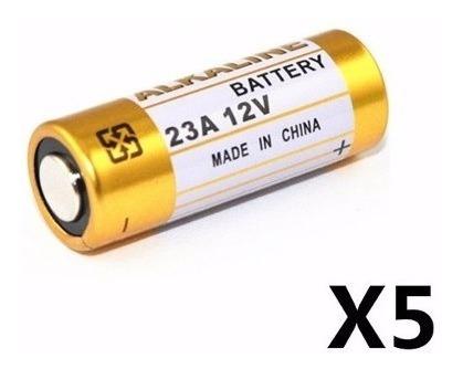 Bateria Pilha 23a 12v Cartela 5 Peças Alcalina Portao Contro