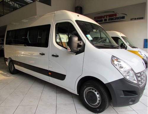 Van Executiva Renault Master Branca Transformada