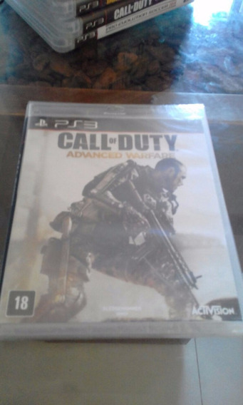 Call Of Duty Advanced Warfare Ps3 Midia Fiscal Novo Lacrado