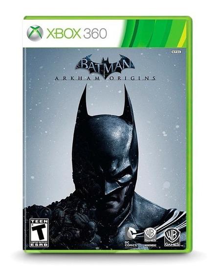 Batman Arkham Origins - Original Xbox 360 Novo Lacrado