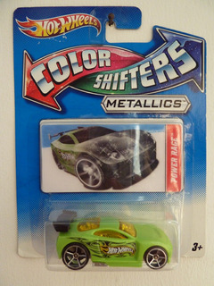 Autos A Escala 1/64 - Hot Wheels - Color Shifter - 2 Modelos