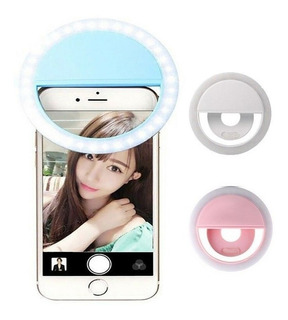 Selfie Led Light Ring Flash Flash Clip Camara Para iPhone