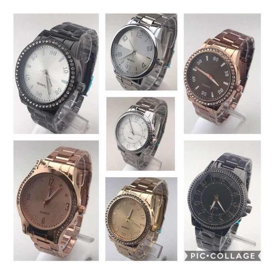 Atacado Relógio Feminino - Kit 10 Unidades