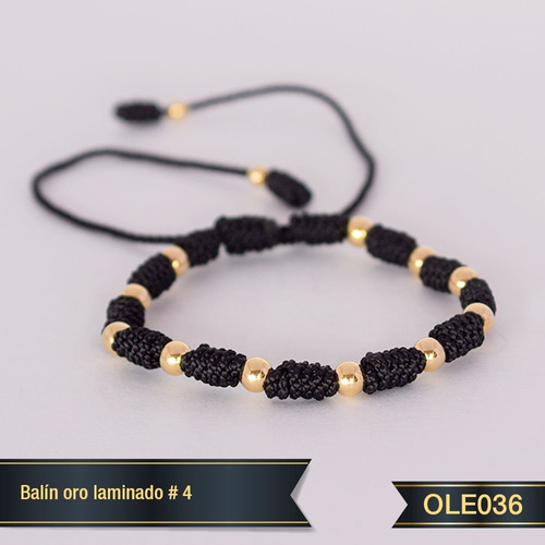 Pulsera Oro Laminado 18k Ole036
