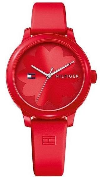 Relógio Tommy Hilfiger Feminino Borracha Vermelho - 1781776