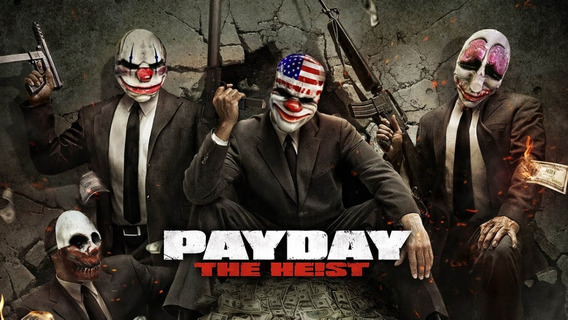 Pay Day The Heist Original Midia Digital Steam Key Pc