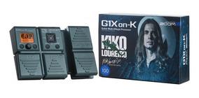 Zoom Pedaleira G1xon-k Kiko Loureiro 2 Anos De Garantia