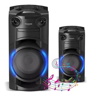 Mincomponente Bluetooth Panasonic Sc-tmax10 Karaoke Cd Dj