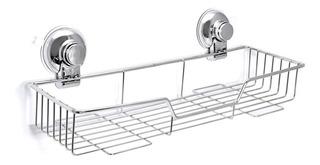Estante Organizador Rack Cromo Sopapa Baño-cocina. Impecable