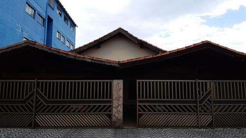 Casa 2 Dormitórios Para Venda Em Praia Grande, Guilhermina, 2 Dormitórios, 1 Banheiro, 1 Vaga - 335_1-1818611