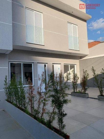 Sobrado Com 2 Dormitórios À Venda, 60 M² Por R$ 350.000,00 - Vila Gustavo - São Paulo/sp - So0319