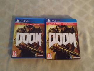 Doom Edición Especial Uac Pack Para Ps4