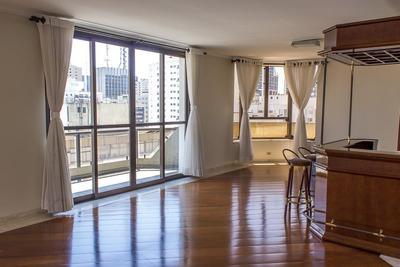 Apartamento Em Paraíso, São Paulo/sp De 242m² 4 Quartos À Venda Por R$ 2.500.000,00 Ou Para Locação R$ 7.000,00/mes - Ap218084lr