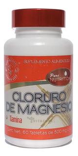 Cloruro De Magnesio + Tiamina 60 Tabs De 500 Mg Keep Natural