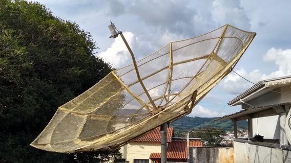 Antena Parabólica Santa Rita 2,85 Metros - A Melhor Já Feita