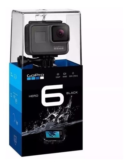 Go Pro Camera Filmadora Gopro Hero 6 - 4k