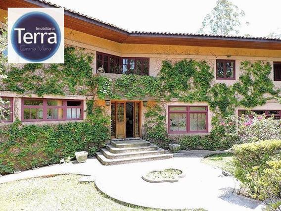 Casa Residencial À Venda E Locação, Vila Real Moinho Velho, Granja Viana - Ca0148