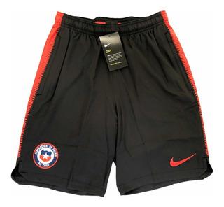 Short Nike Selección Chilena Bolsillos Original / S. Boxer