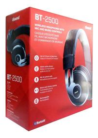 Headset Isound Bt-2500 Bluetooth Sem Fio C/microfone Eua