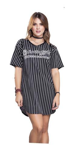Vestido Corto Juvenil Femenino Atypical 69549