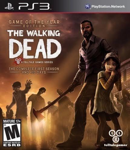 Jogo De Ps3 The Walking Dead Em Mídia Digital