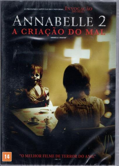 Dvd Filme Annabelle 2 - A Criação Do Mal - Dublado