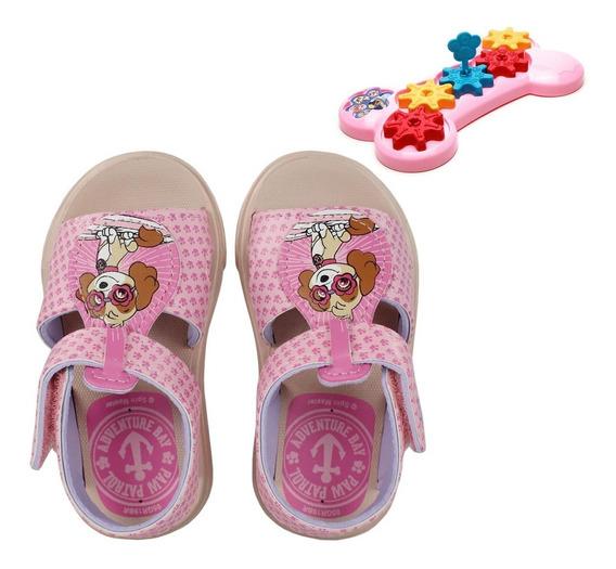 Sandália Infantil Grendene Patrulha Canina Baby + Brinquedo