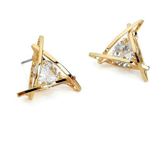 Brinco Geométrico Triangular