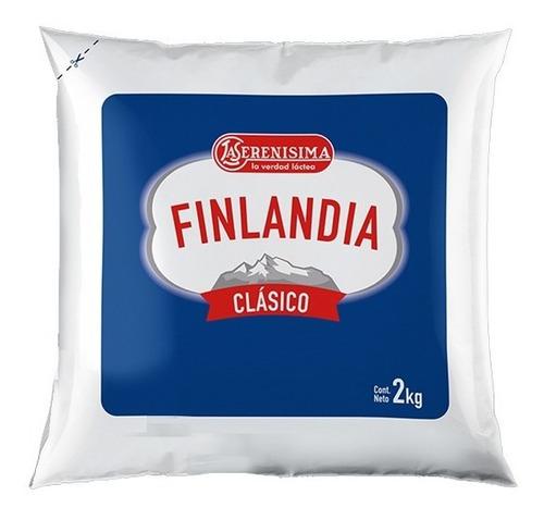 Imagen 1 de 5 de Queso Finlandia Clásico X2kg