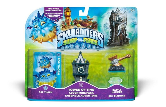 Skylanders Swap Force Tower Of Time Adventure Pack Xbox One