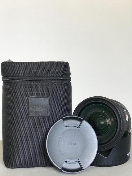Lente Sigma 24-70 2.8 Nikon Ex Dg Hsm Full Frame Parcelado