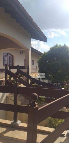 Imagem 1 de 18 de Casa Com 4 Dormitórios À Venda, 365 M² Por R$ 1.380.000,00 - Parque Nova Suiça - Valinhos/sp - Ca2911