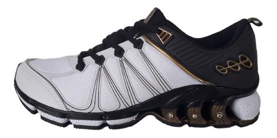 Tênis Black Free Esportivo Casual Confortável Treino Corrida