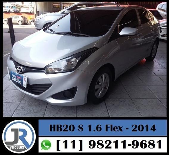 Hyundai Hb20 Sedan Confortplus 1.6 Flex 2014 Completo
