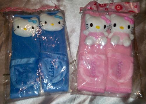 Bandanas Para Cinturon De Seguridad De Hello Kitty