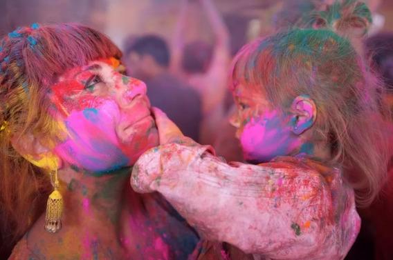 Polvos De Colores Holi Color Egresados Fiestas Despedidas