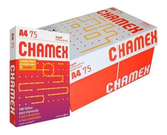Caixa De Papel A47 Chamex C/ 10 Resmas