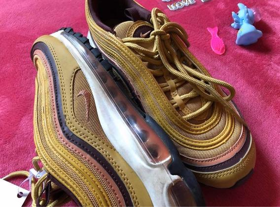 Zapatillas Nike Airmax 97 Color Mostaza