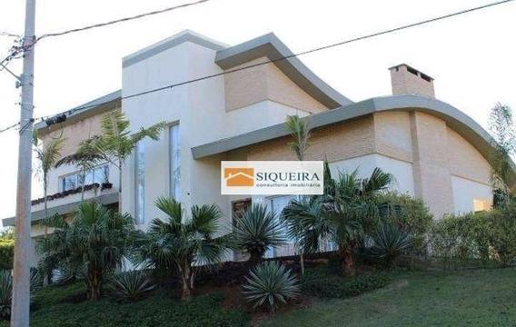 Casa Residencial À Venda, Condomínio Portal Do Sabiá, Araçoiaba Da Serra. - Ca0555