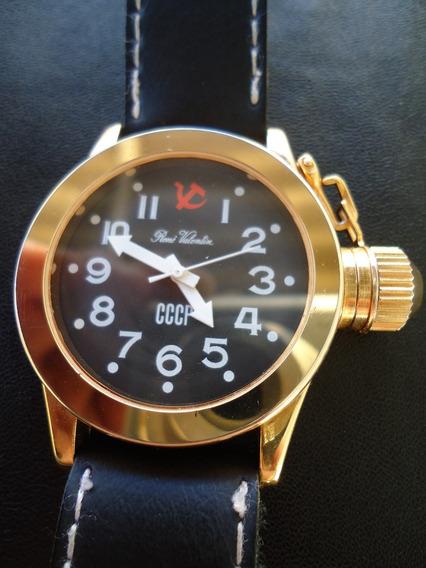 Relógio Soviet Cccp René Valentin À Corda Rússia Importado