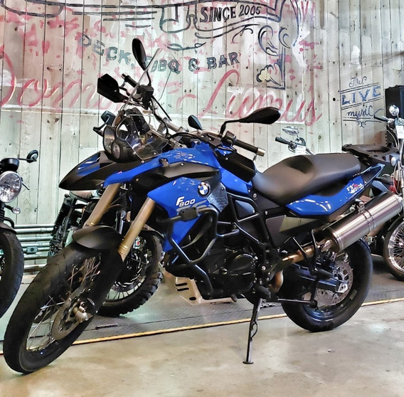 Bmw F 800 Gs 2014 - Azul