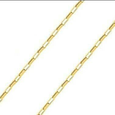 Corrente Elos Cartier Em Ouro 18k