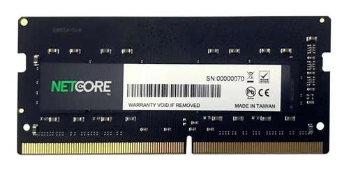 Memória Notebook 16gb Ddr4 3200 Mhz Netcore Net416384so32lv
