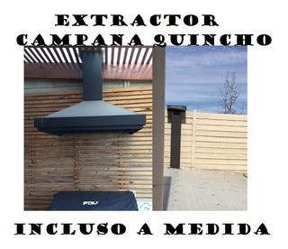 Extractor Metal Quinchos Campanas 8 Pulgadas 20cm