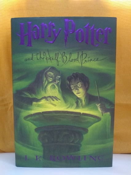 Harry Potter And The Half-blood Prince - Capa Dura