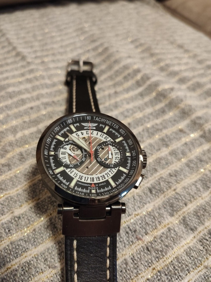 Relógio Unissex Aviator Usado, Design Top