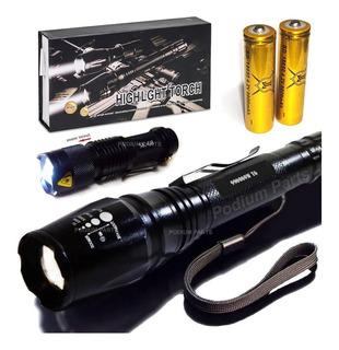 Lanterna Tática Led T6 980.000w Potente Melhor Que A X900