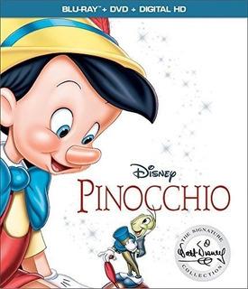 Blu-ray : - Pinocchio (with Dvd, 2 Pack, Digitally...