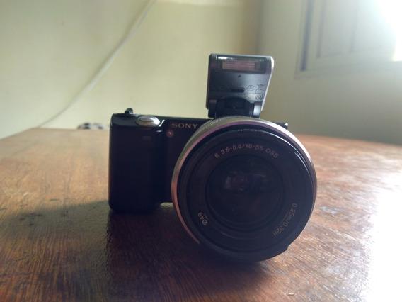 Câmera Sony Nex 5 (mirrorless)