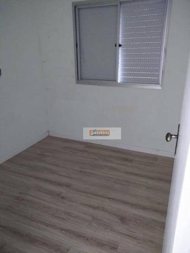 Apartamento Com 3 Dormitórios À Venda, 69 M² - Planalto - São Bernardo Do Campo/sp - Ap6685
